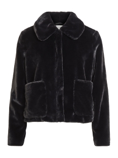 Vila Jas VIKODA FAUX FUR SHORT JACKET/TB 14053401 Black
