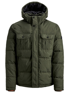 Jack & Jones Jas JCOWILL PUFFER 12156004 Forest Night