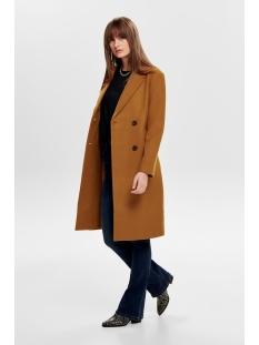 onllouisa wool coat cc otw 15180329 only jas pumpkin spice