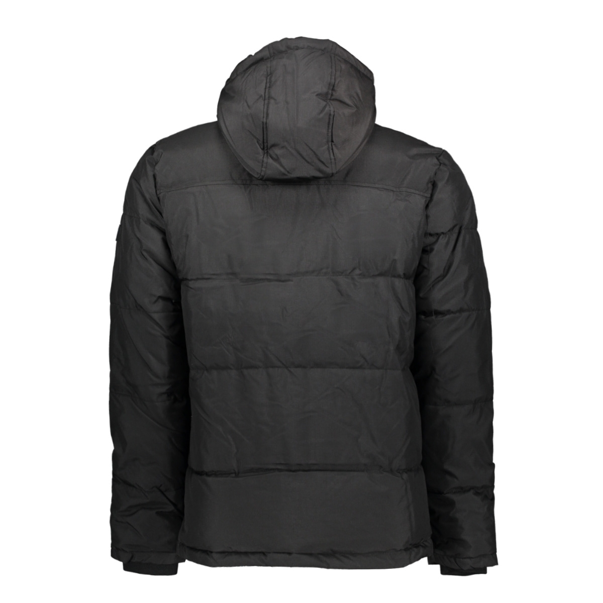 jcowill puffer 12156004 jack & jones jas black