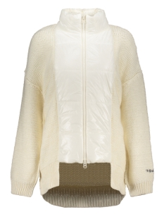10 Days Vest PUFFER CARDIGAN 20 654 9103 1043 WINTER WHITE