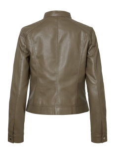 vmsheena short faux leather jacket 10215289 vero moda jas bungee cord