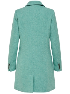 onlcarmelita wool coat otw 15168900 only jas green-blue slt/melange