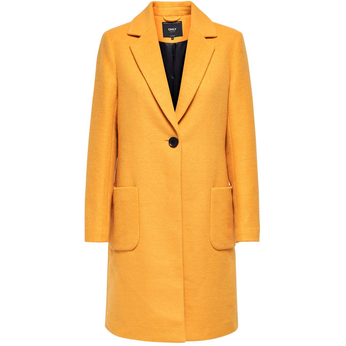 onlastrid marie coat otw 15181879 only jas golden yellow/melange