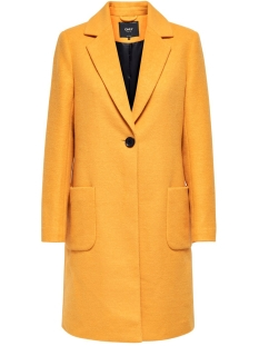 Only Jas ONLASTRID MARIE COAT OTW 15181879 Golden Yellow/MELANGE