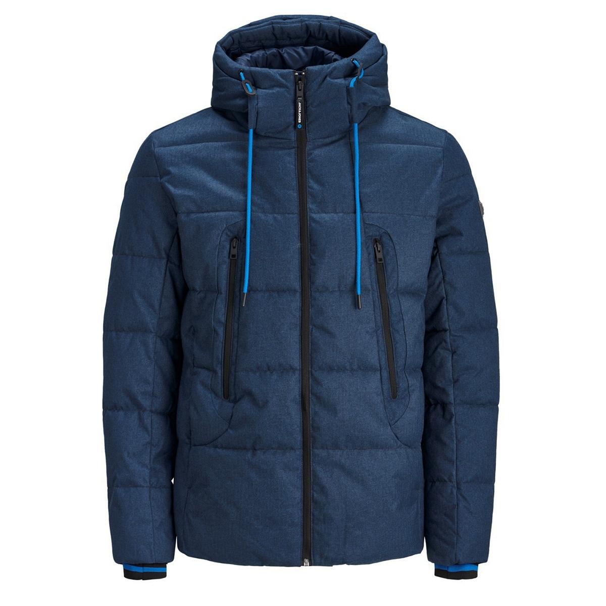 jcofred puffer 12157682 jack & jones jas china blue