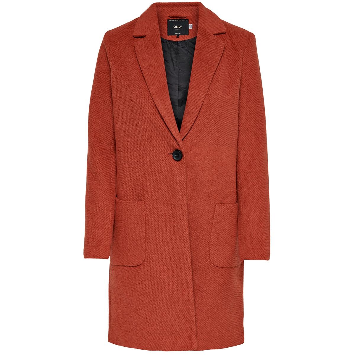 onlastrid marie coat otw 15181879 only jas burnt henna/melange