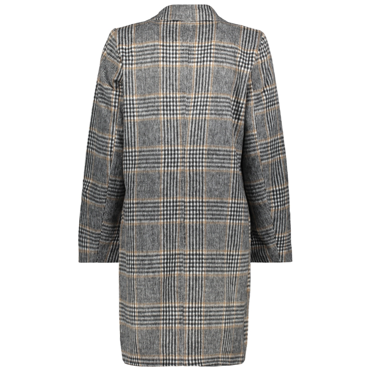 vileovita coat 14054098 vila jas cloud dancer/check