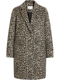 Vila Jas VILEOVITA COAT 14054098 Tigers Eye/LEO IN TIG