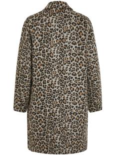 vileovita coat 14054098 vila jas tigers eye/leo in tig