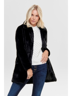 jdylucy faux fur jacket otw qiq 15184290 jacqueline de yong jas black