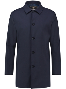 Haze & Finn Jas LONG RAIN COAT MC12 1113 NAVY