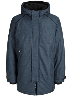 Jack & Jones Jas JCOFIGURE PARKA STS 12157684 Sky Captain/MELANGE