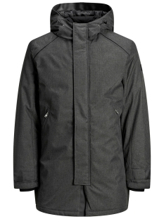 Jack & Jones Jas JCOFIGURE PARKA STS 12157684 Black/MELANGE
