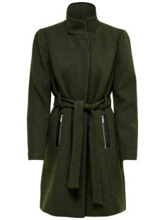 Only Jas ONLMICHIGAN WOOL COAT OTW 15167905 Forest Night/MELANGE