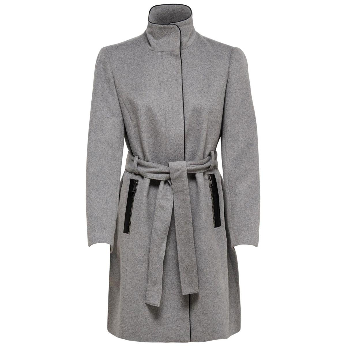 onlmichigan wool coat otw 15167905 only jas light grey melange