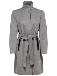 Only Jas ONLMICHIGAN WOOL COAT OTW 15167905 Light Grey Melange