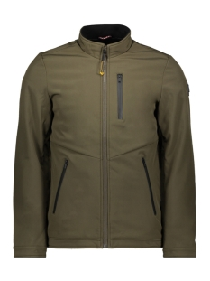 NO-EXCESS Jas SOFT SHELL JACK 92630815 059 DK ARMY