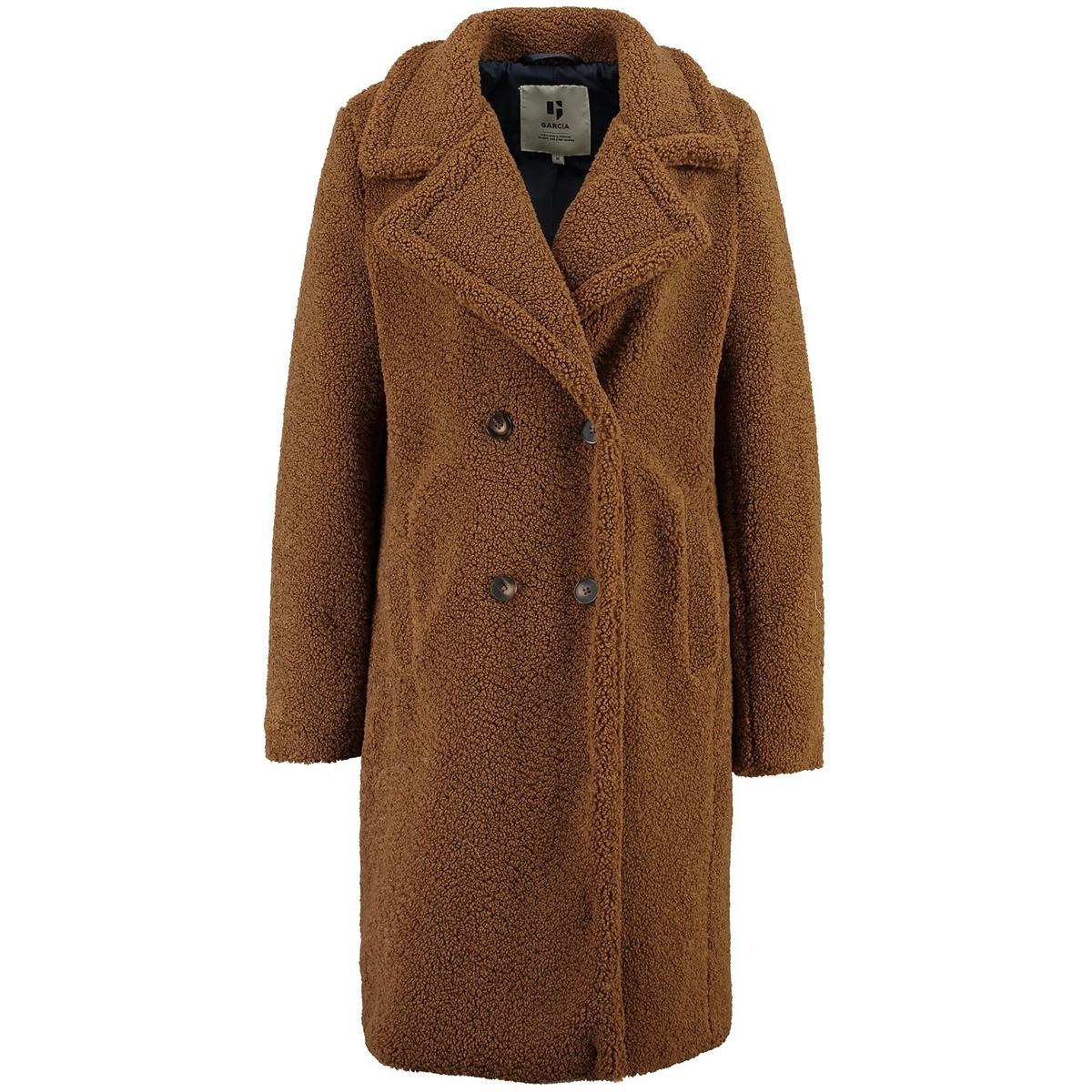 bruine teddy coat gj900907 garcia jas 2870 teddybear