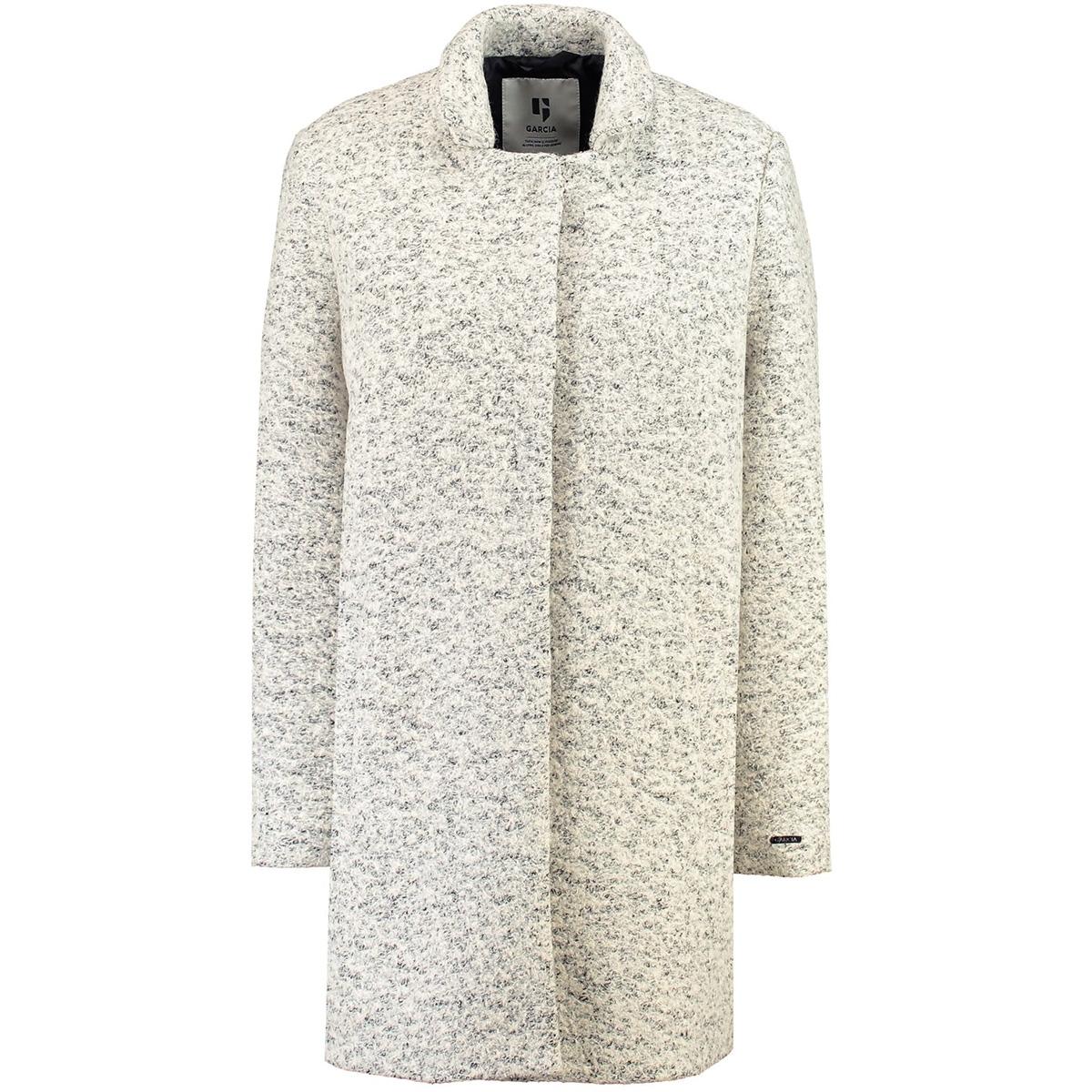 grijze gemeleerde mantel gj900914 garcia jas 1369 soft grey melee
