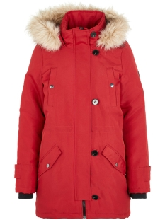 Vero Moda Jas VMEXCURSIONEXPEDITION 3/4 PARKA NOO 10214816 Chili Pepper