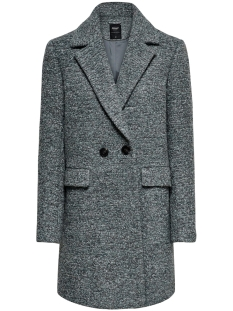 Only Jas ONLALLY BOUCLE WOOL COAT CC OTW 15180902 Balsam Green/MELANGE
