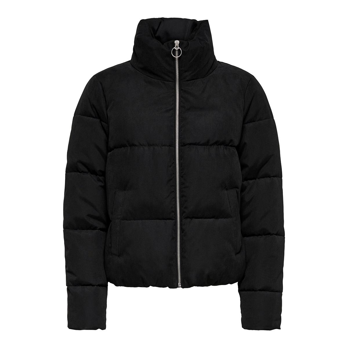 onldina short quilted puffer cc otw 15180358 only jas black