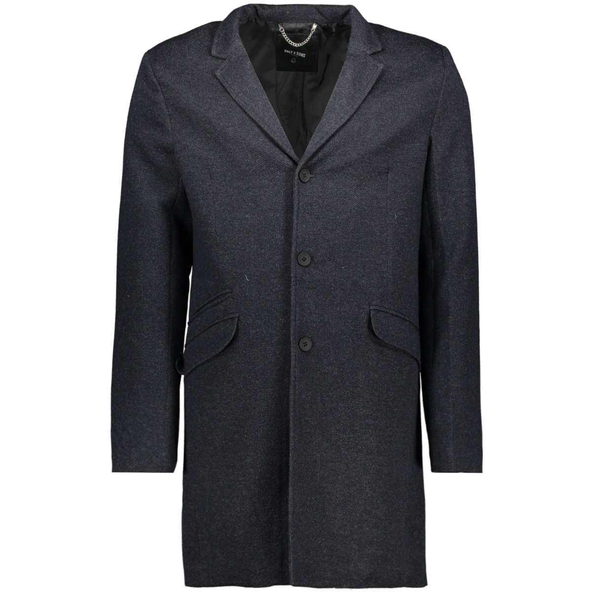 onsjulian king coat in otw 22012280 only & sons jas night sky/melange