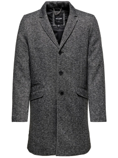 Only & Sons Jas ONSJULIAN KING COAT IN OTW 22012280 Dark Grey Melange