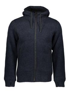 bonded knit ziphood m2000001a superdry jas blue/black twist