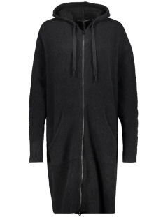 10 Days Vest HOODY MERINO WOOL 20 660 9103 BLACK