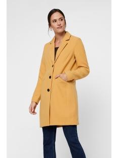 vmcala cindy aw19 3/4 jacket boos 10215805 vero moda jas amber gold