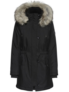 Only Jas ONLIRIS FUR PARKA CC OTW 15181307 Black