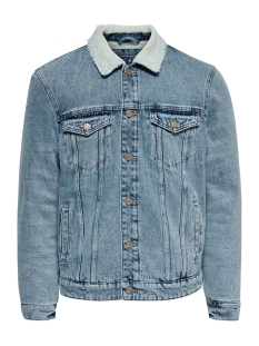 Only & Sons Jas onsLOUIS JACKET BLUE PK 4770 22014770 Blue Denim