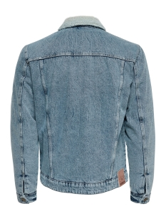 onslouis jacket blue pk 4770 22014770 only & sons jas blue denim