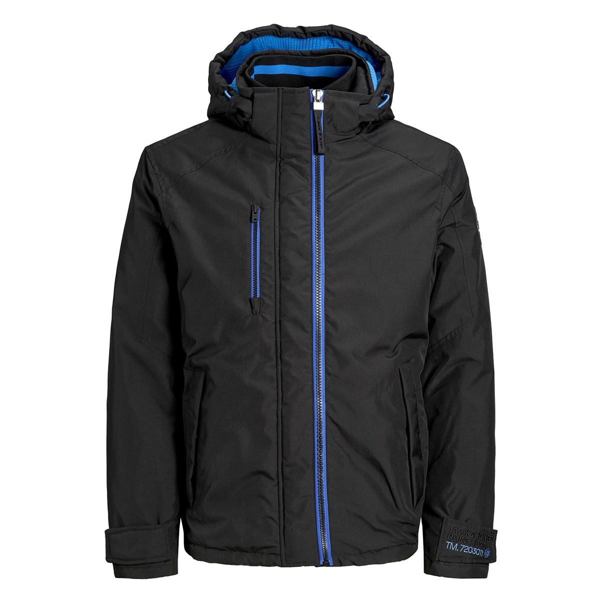 jcobruce jacket 12156686 jack & jones jas black