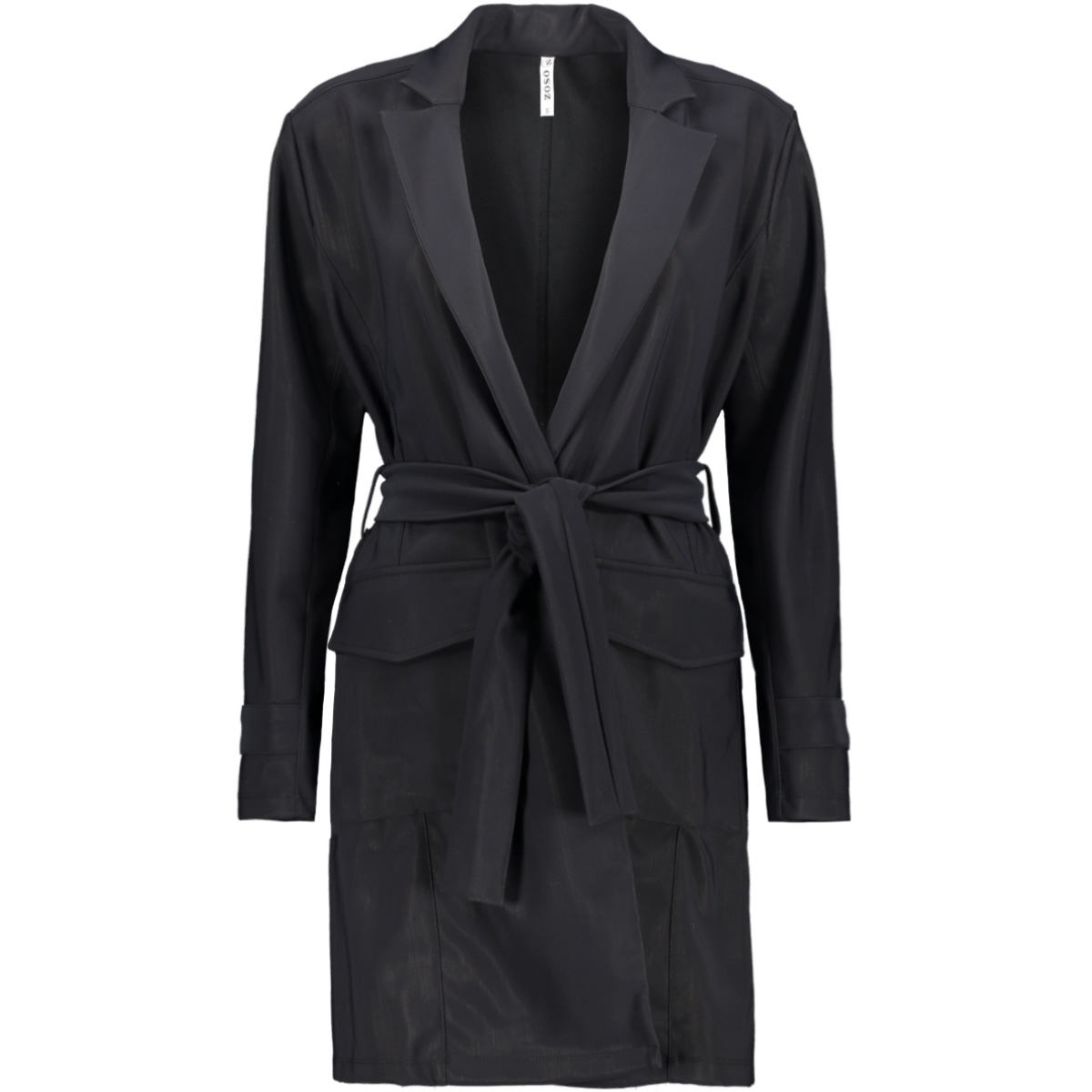 hoxton travel coat 194 zoso blazer black
