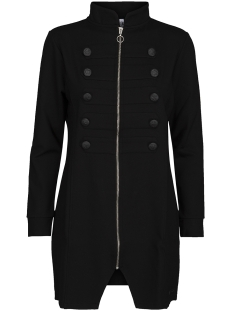 derry long military jacket 194 zoso vest black