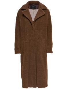 ONLSAMANTHA LONG TEDDY COAT OTW 15165804 Partridge