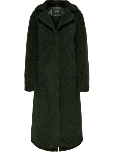 Only Jas ONLSAMANTHA LONG TEDDY COAT OTW 15165804 Peat