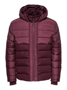 Only & Sons Jas onsTHEO PUFFER OTW 22013092 Zinfandel