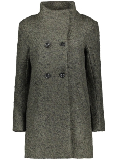 Only Jas ONLSOPHIA WOOL BOUCLE COAT CC OTW 15180992 Forest Night/MELANGE