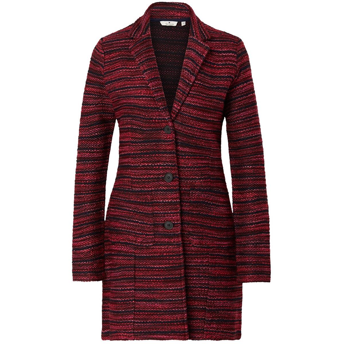 gemeleerd vest jasje 1014970xx70 tom tailor vest 20596