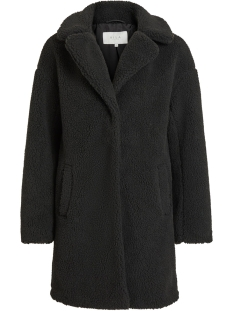 Vila Jas VIPLYS TEDDY COAT/AS 14055384 Black