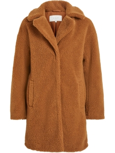 Vila Jas VIPLYS TEDDY COAT/AS 14055384 Oak Brown