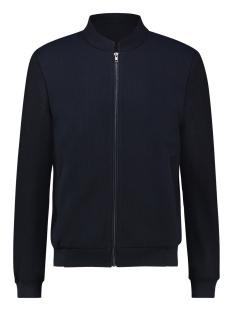 bomber jacket waffle mc12 1111 haze & finn jas navy