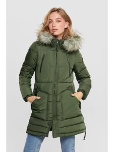 Only Jas ONLRHODA WINTER COAT OTW 15182370 Forest Night