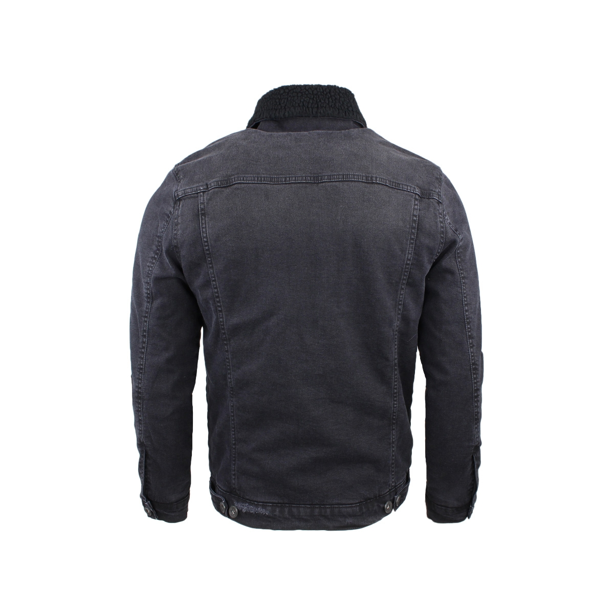 denim jack 53137 gabbiano jas black