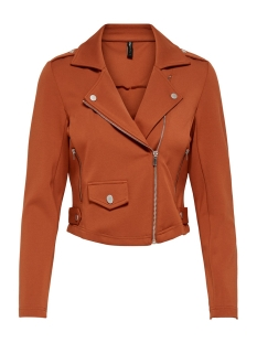 Only Jas ONLPOPTRASH BIKER JACKET 15202908 Ginger Bread