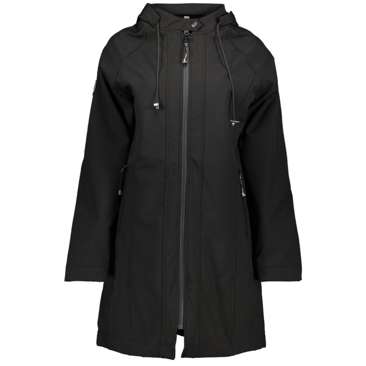 195 outdoor softshell jacket zoso jas black